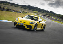 Porsche 718 Cayman GT4, in pista con il flat six aspirato [Video]