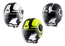 Casco jet Kappa KV37 Oregon