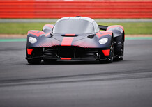 Aston Martin Valkyrie: eccola in livrea Red Bull