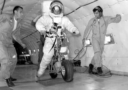 Le moto del programma Apollo per lo sbarco sulla Luna