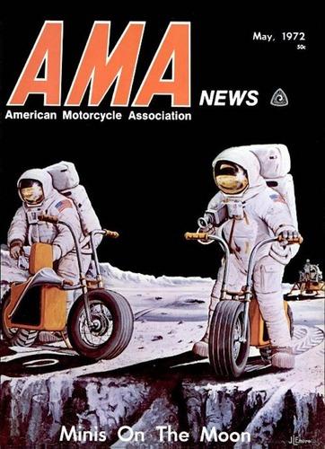 Le moto del programma Apollo per lo sbarco sulla Luna  (2)