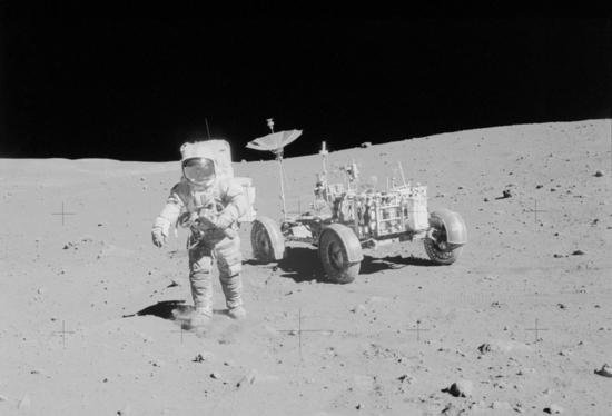 Il Rover lunare, il Lunar Roving Vehicle
