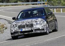 BMW Serie 5: restyling e nuovo motore ibrido?