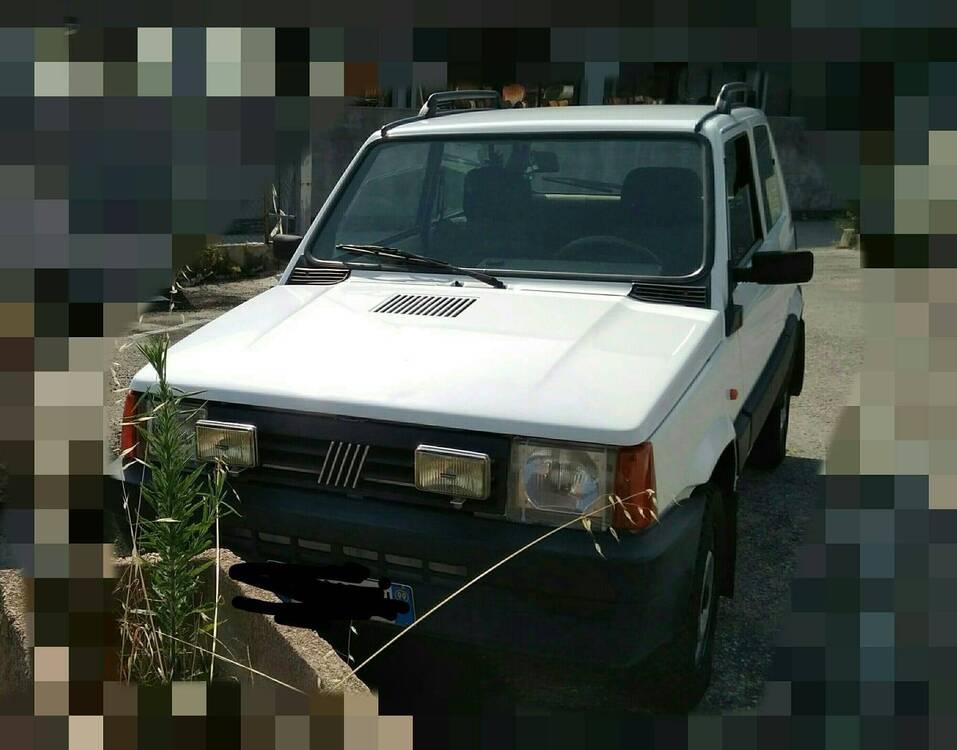 Fiat Panda 1100 i.e. cat 4x4 Trekking del 1999 usata a Monte Colombo