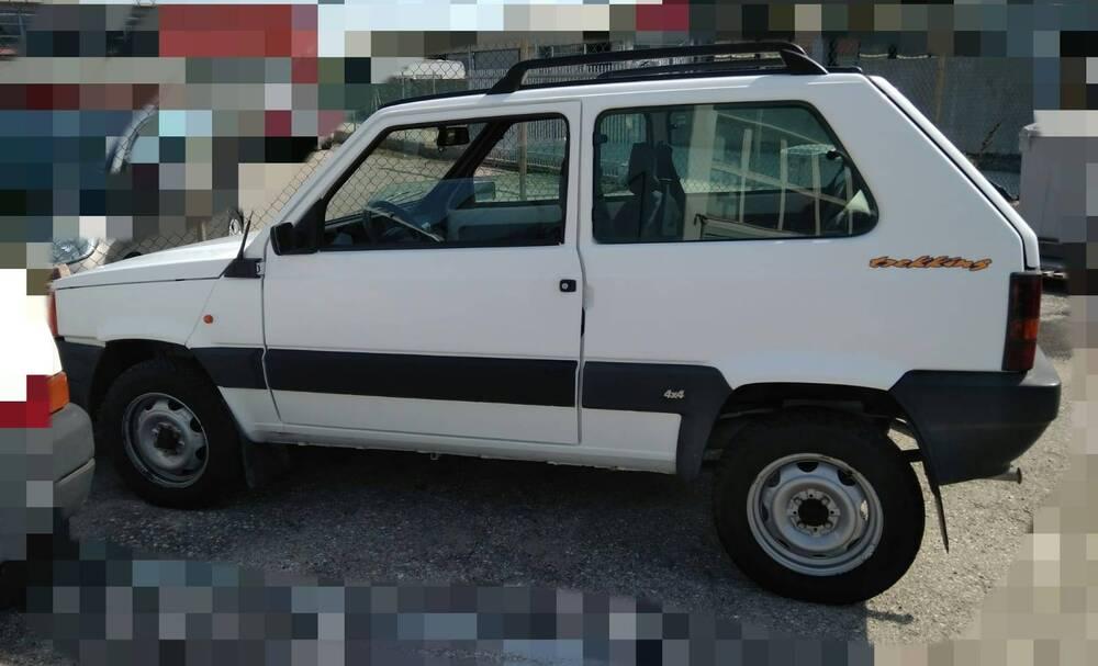 Fiat Panda 1100 i.e. cat 4x4 Trekking del 1999 usata a Monte Colombo (4)