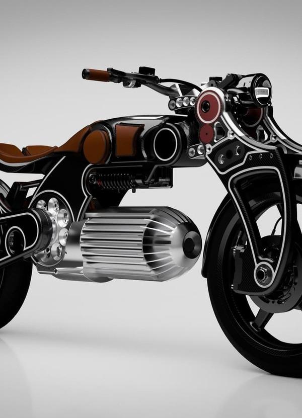 Curtiss Hades, un proiettile di moto elettrica