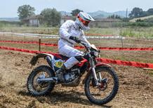 Trofeo Maxienduro e Scrambler, Roberto Fantaguzzi leader nella gara di casa