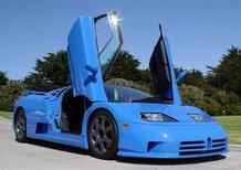 Bugatti EB 110, una vettura omaggio a Pebble Beach?