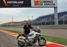 Dalla Maremma al GP d'Aragona con la Honda Crossrunner