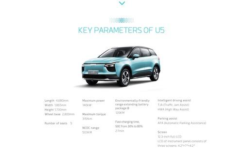 """SUV """"come il Q5"""" però elettrico, economico e super affidabile? U5 (cinese) [video] (7)"""