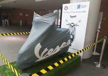 Roma: la Vespa elettrica al Campus Biomedico