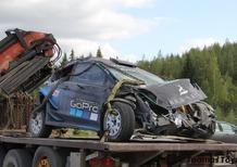 WRC 2019 Finlandia. Forfait Paddon, Auto Distrutta!