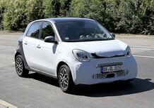 Smart EQ forfour: aggiornamenti per la piccola elettrica [Foto spia]