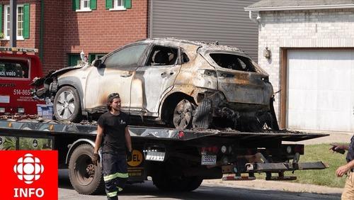 Nuovo SUV elettrico si auto incendia nel box? La batteria non era in carica. Autorità indagano per appurare le cause [foto gallery] (3)