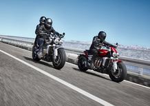 Triumph Rocket 3GT e Rocket 3R: 2.500 cc e due versioni