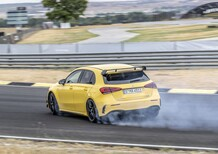 Mercedes-AMG A 45 2019: derapa e diverte con 421 CV [Video]