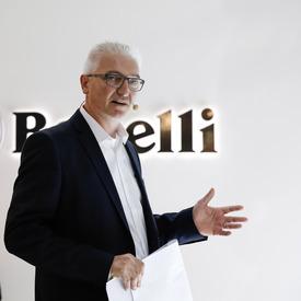 Marco Bellucci, R&D Manager di Benelli
