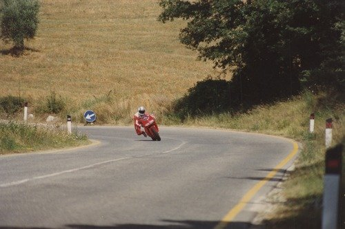 Ducati 916: quella personale di Massimo Tamburini è da ammirare a Bologna (2)