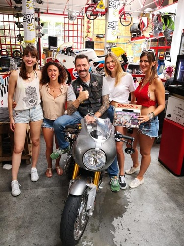 Ciapa la Moto per Garage Italia, un successo (2)