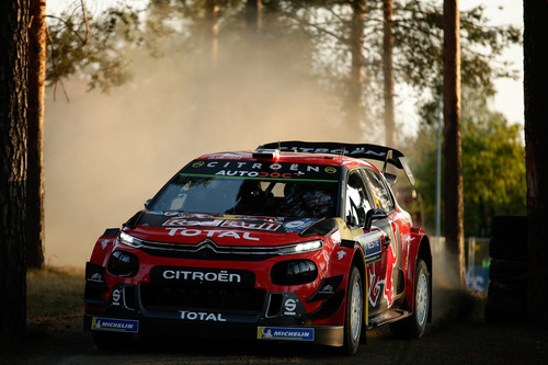 WRC 2019 Finlandia. Tutto in 2 secondi. Latvala-Meeke, Toyota, Tanak dietro a Lappi (5)