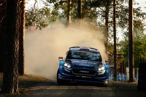 WRC 2019 Finlandia. Tutto in 2 secondi. Latvala-Meeke, Toyota, Tanak dietro a Lappi (6)