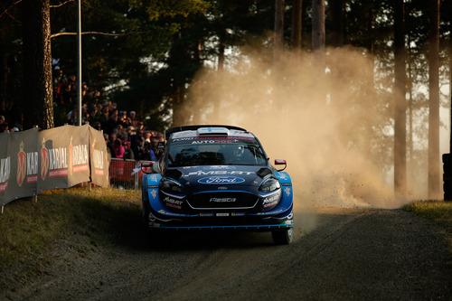 WRC 2019 Finlandia. Tutto in 2 secondi. Latvala-Meeke, Toyota, Tanak dietro a Lappi (9)