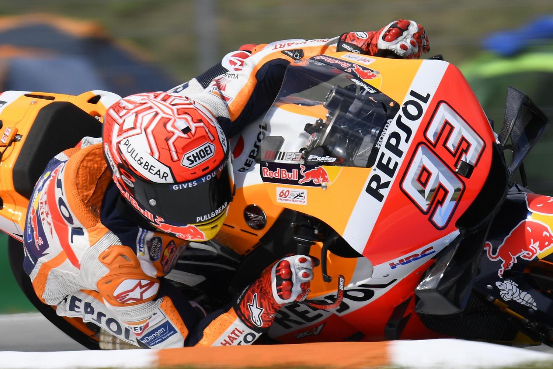 MotoGP 2019 a Brno. Pole position di Marc Marquez