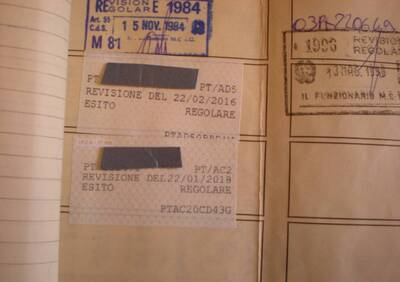 500 l d'epoca del 1972 a Pistoia