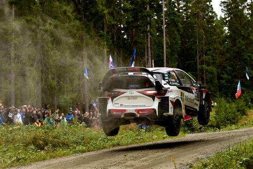 WRC 2019 Finlandia. È Tanak IV, Toyota Yaris WRC (4)