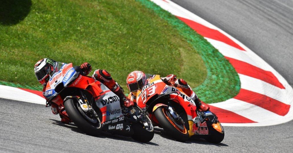 MotoGP. Orari TV Sky e TV8 del GP d'Austria allo Spielberg