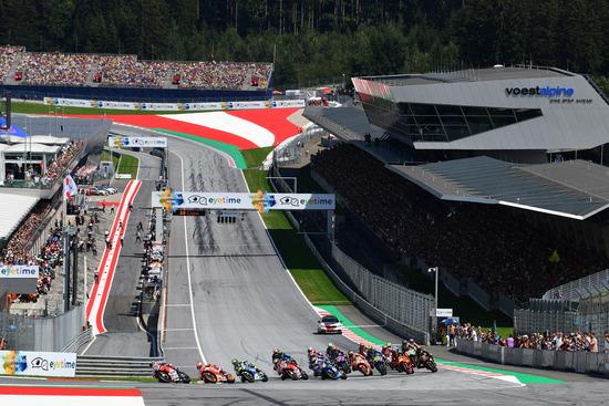 Gp Austria, Marquez fa il miglior tempo nelle secondo libere