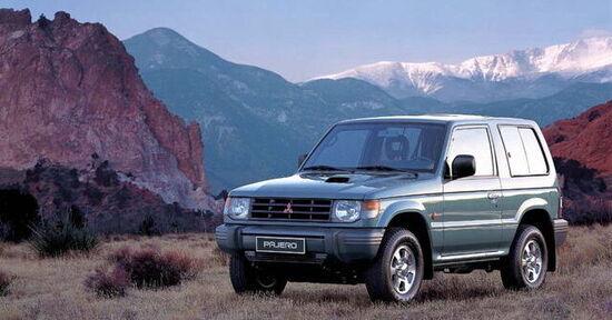 La seconda generazione della Pajero arriva negli anni 90