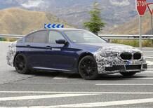 Nuova BMW Serie 5 Plug-in: restyling 2020 con potenza superiore [foto]