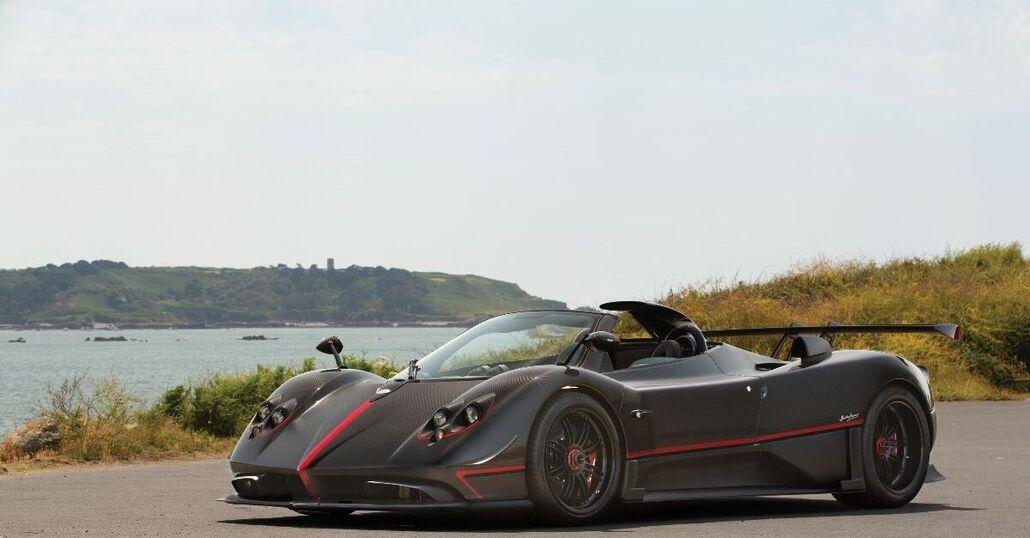 Pagani Zonda Aether: la roadster da 5 milioni all'asta per il GP Abu Dhabi