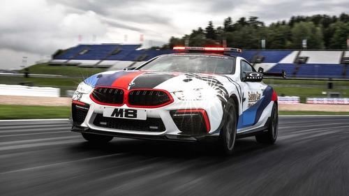 BMW M8 in pista con la MotoGP: i dettagli della Safety Car