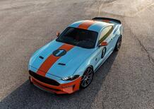 Ford Mustang Gulf Heritage Edition: livrea racing per la muscle car