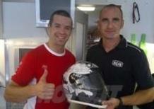 Checa a Silverstone con il casco X-Lite X-802 The Man in Black