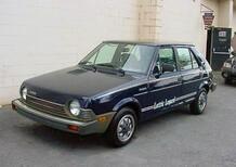 Fiat: in USA la Ritmo era elettrica già nel 1980!