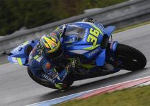 MotoGP. A Silverstone Guintoli al posto di Mir in sella alla Suzuki