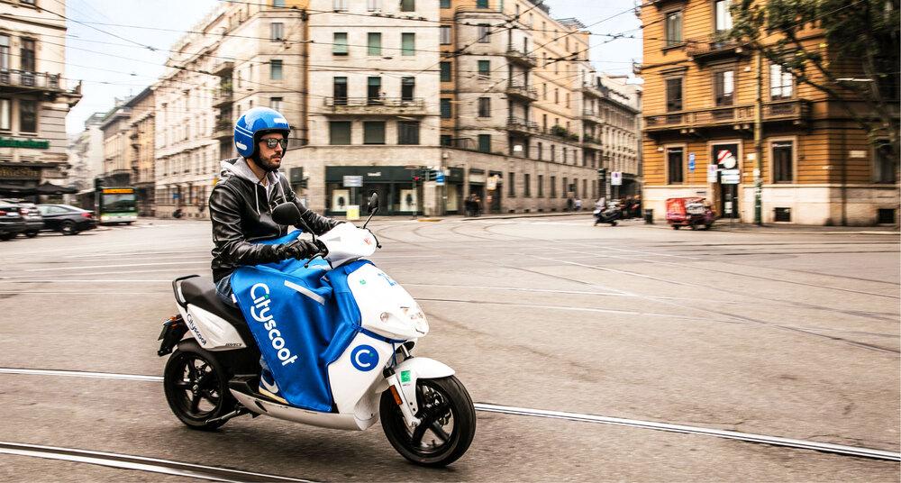Govecs GO! S1.5, lo scooter elettrico di Cityscoot