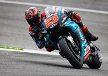 MotoGP 2019. Quartararo primo nelle FP1 a Silverstone