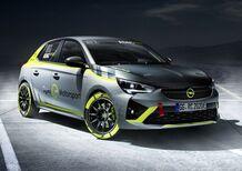 Opel Corsa-e Rally, la prima auto elettrica da rally [Video]