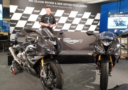 Nuova Triumph Daytona Moto2 765: tutti i dati!