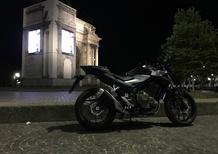 Honda CB500F, in vacanza con… la patente A2. 2/IN CITTA'