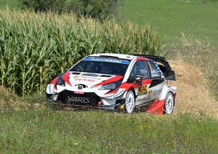 WRC 2019 Germania. Ott Tanak il Mostro. 3 Toyota al comando