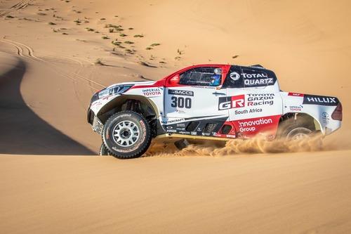 Dakar 2020: Alonso completa i test con Toyota (8)