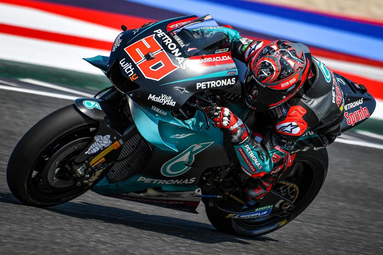 Test MotoGP a Misano. Quartararo è il più veloce