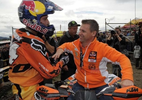 La KTM campione del mondo MX2