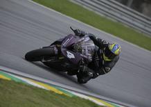 Alex Barros a podio nella SBK brasiliana