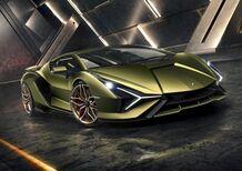 Lamborghini Sián, il Toro diventa ibrido